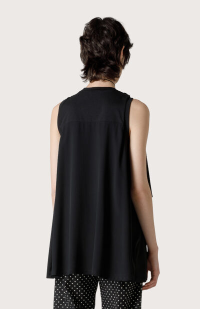 SEVENTY - MJ1665 - Sleevless with bow - 002