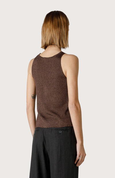 SEVENTY - MT2988 - Vest with buttons - 002