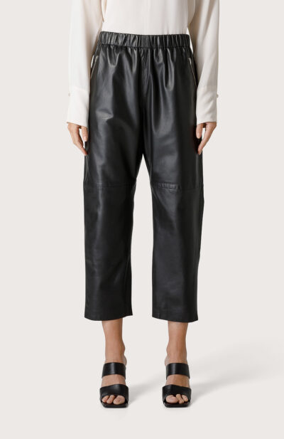 SEVENTY - PT1053 - Leather trousers - 001
