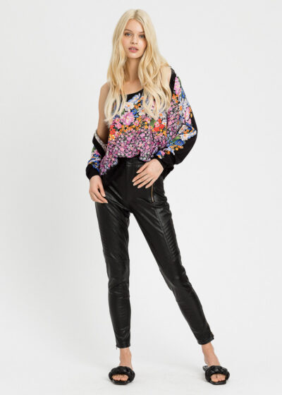 TWINSET - 221TP2060 - Coated Trousers - 002