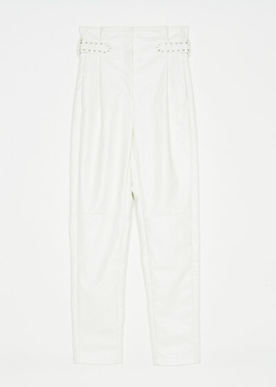 TWINSET - 221TP2061 - Coated Trousers - 001