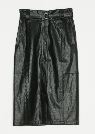 TWINSET - 221TP2065 - Coated Skirt - 001