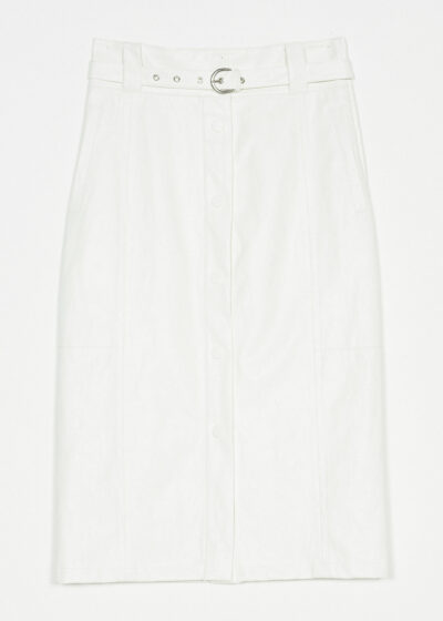 TWINSET - 221TP2065 - Coated Skirt - 002