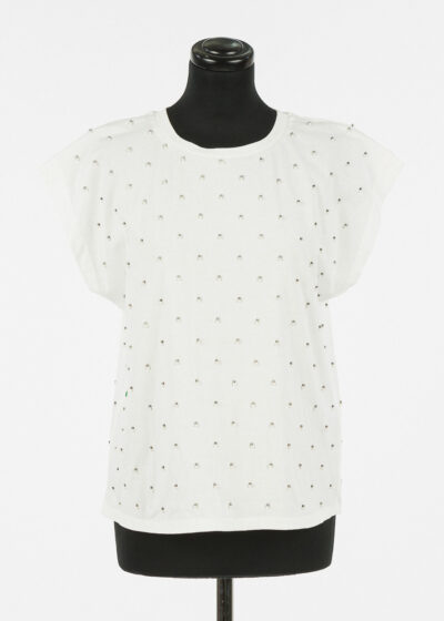 TWINSET - 221TP2070 - Knitted T-Shirt - 002