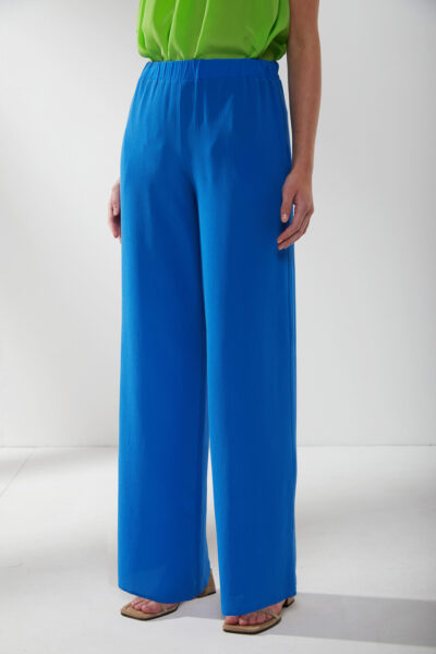 KANGRA MAN - S2A494115 - Wide Silk Trousers With Pockets - 001