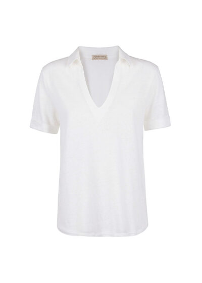 PUROTATTO - 1316 - Polo t-shirt with short sleeves - 002