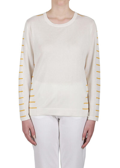 PUROTATTO - 2019 - Round neck sweater with long sleeves - 001
