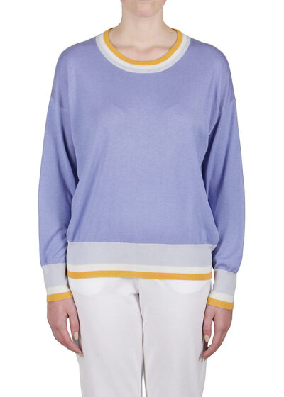 PUROTATTO - 2020 - Round neck sweater with long sleeves - 001