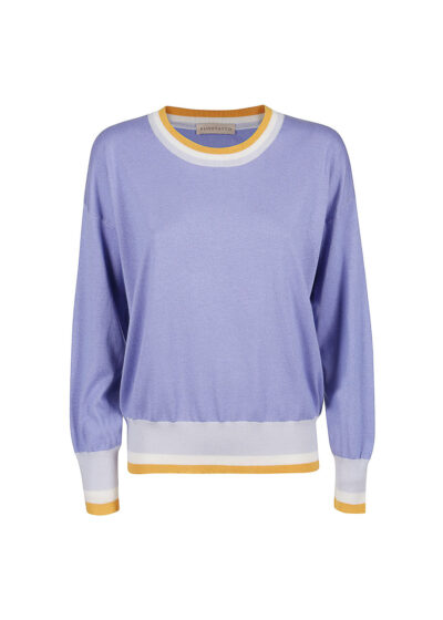 PUROTATTO - 2020 - Round neck sweater with long sleeves - 002