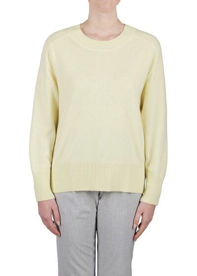 PUROTATTO - 2100 - Round neck sweater with long sleeves
