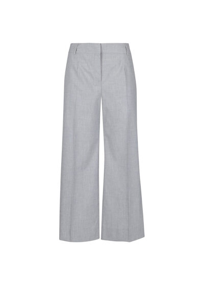 PUROTATTO - 3020 - Wide leg cropped trousers with pockets - 002