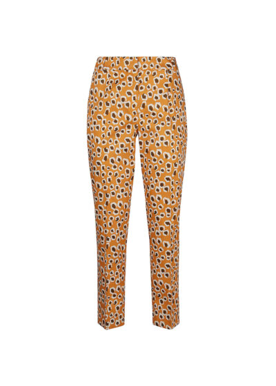 PUROTATTO - 3072 - Cigarette trousers with pockets - 002