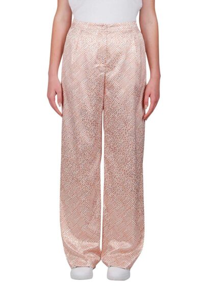 PUROTATTO - 3075 - Wide leg trousers with pockets - 001