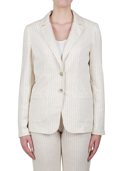 PUROTATTO - 8020 - Single-breasted jacket with patch pockets
