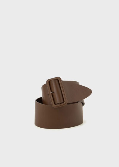 ROSSO 35 - CINT901 - Wide Leather Belt - 002