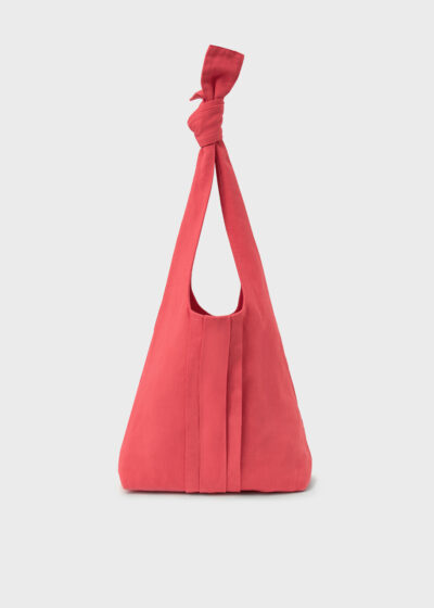 ROSSO 35 - MAMANUCA - Piece-Dyed Knotted Shopping Bag - 002