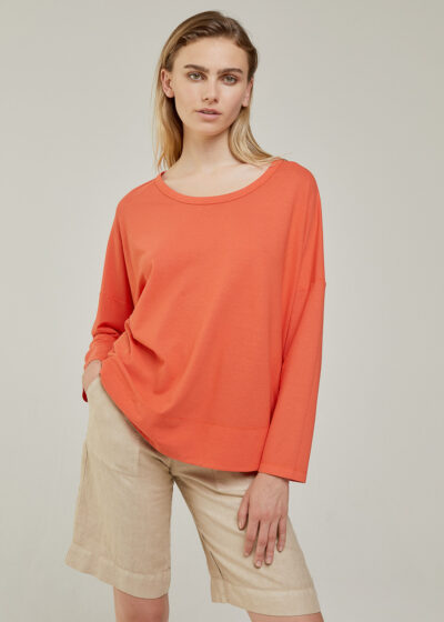ROSSO 35 - N1347TS - Garment-Dyed Cotton-Crepe T-Shirt - 001