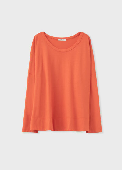 ROSSO 35 - N1347TS - Garment-Dyed Cotton-Crepe T-Shirt - 002