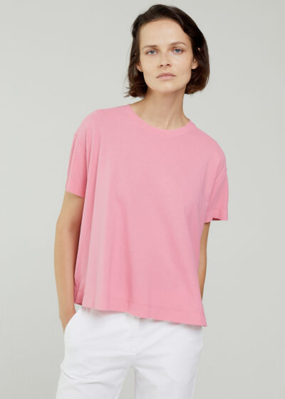ROSSO 35 - N1348TS - Garment-Dyed Cotton-Crepe T-Shirt - 001