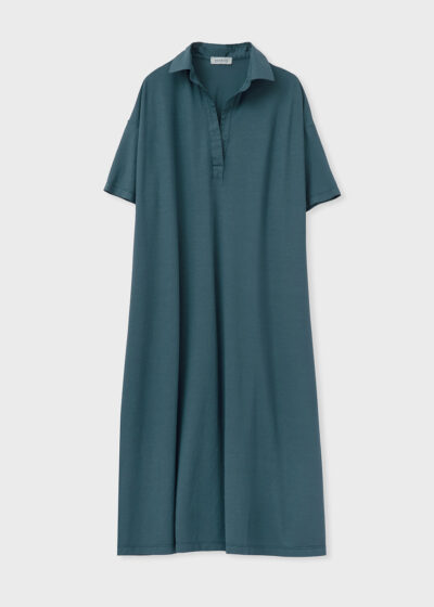 ROSSO 35 - N1350VS - Garment-Dyed Cotton-Crepe Dress - 002