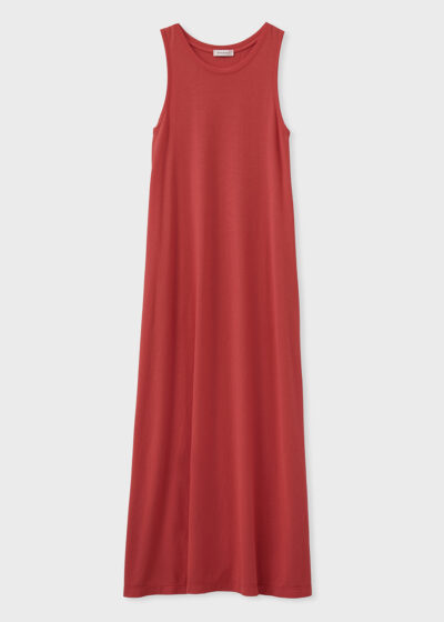 ROSSO 35 - N1351VS - Garment-Dyed Cotton-Crepe Dress - 002