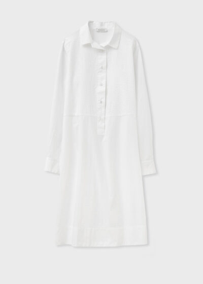 ROSSO 35 - N1384VR - Garment-Dyed Embroidered Shirt-Dress - 002