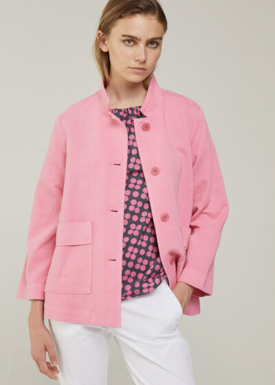 ROSSO 35 - N1397A - Garment-Dyed Work Jacket - 001