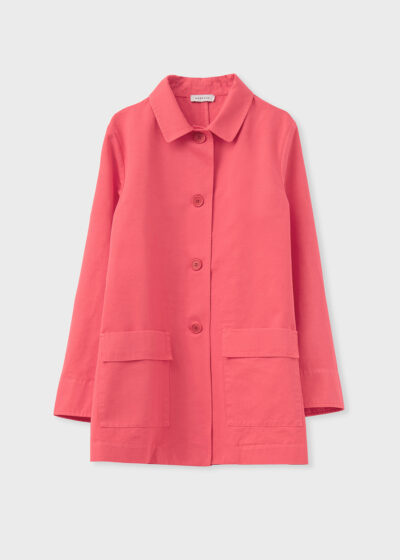 ROSSO 35 - N1402A - Garment-Dyed Shirt Jacket - 002