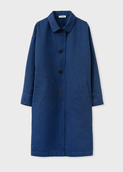 ROSSO 35 - N1403A - Garment-Dyed Oversized Coat - 002