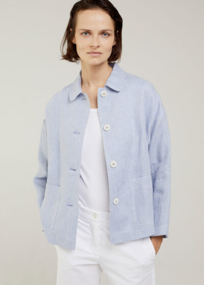 ROSSO 35 - N1408A - Oversized Short Jacket - 001