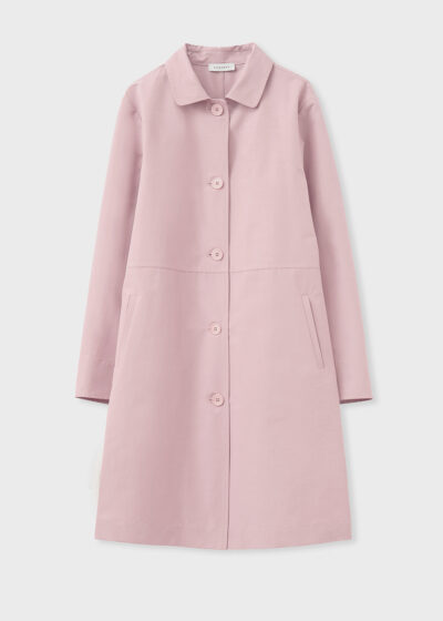 ROSSO 35 - S5967A - Single-Breasted Trench Coat - 002