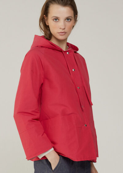 ROSSO 35 - S5968A - Reversible Hooded Jacket - 001