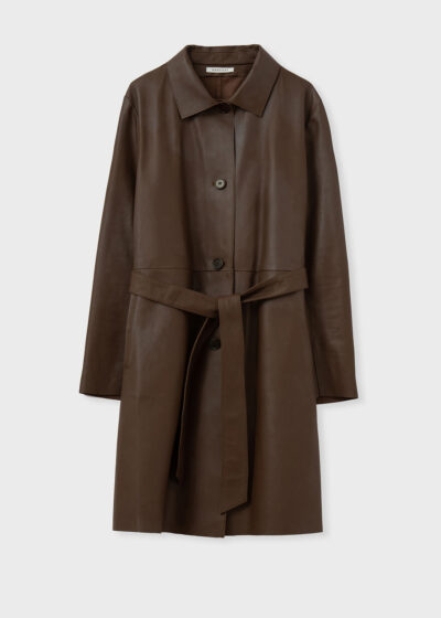 ROSSO 35 - S6034AN - Real Leather Dust Coat - 002