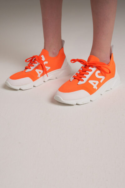 MANZONI 24 WOMAN - 22PM369 - Solid sneaker with 24 logo - 001