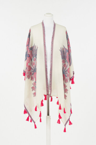 TWINSET MAIN - 221TO5045 - Woven Poncho - 001