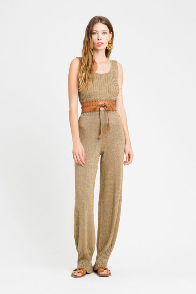TWINSET MAIN - 221TT3063 - Knitted Trousers - 001